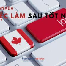 Du học Canada: Tìm việc làm sau khi tốt nghiệp