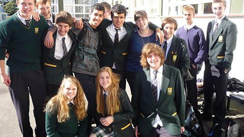 Bayfield School Students