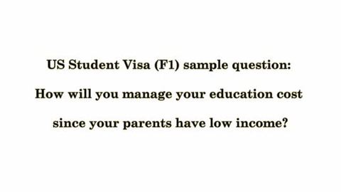 Extremely useful f1 visa interview questions and answers.